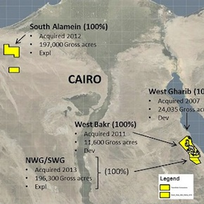 TransGlobe Energy announces Egypt operations update, says NWG 38 – Red Bed discovery now onproduction
