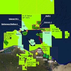 BP makes third gas discovery in North Damietta Concession offshoreEgypt