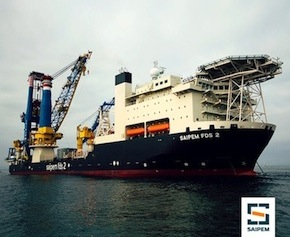 Saipem awarded $900 million offshore EPCI contract for Zohr Ramp Up Phase