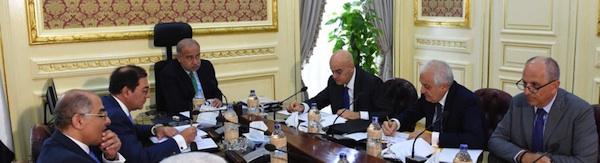 Egypt PM Sherif and Descalzi 1 Aug 2017