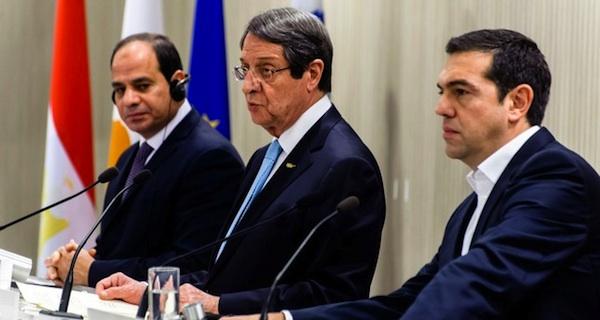 Egypt-Cyprus-Greece