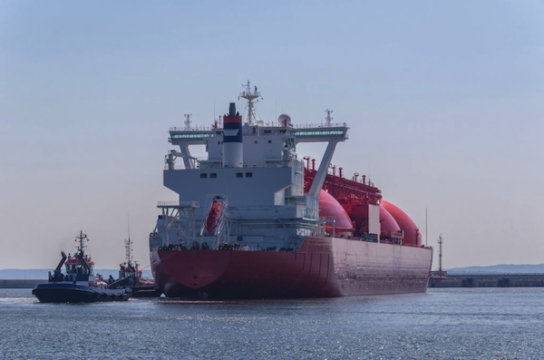 71536475 - gas carrier in port