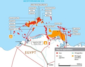 West Nile Delta Phase 9B production expected at 350-400mcf/day
