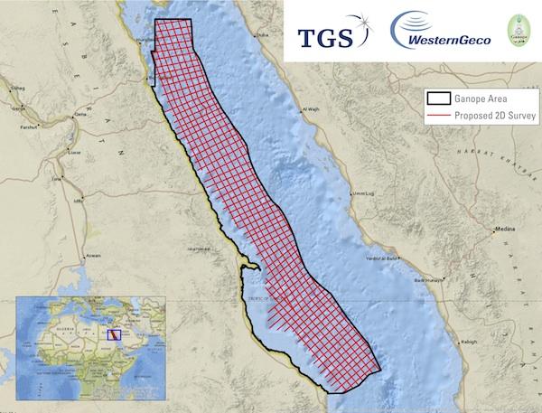 Red Sea 2D Survey