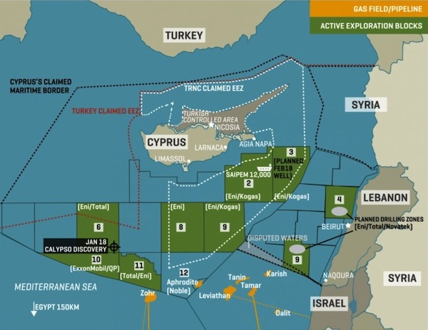 Cyprus egypt gas pipeline deal to be signed by mid year el molla east mediterranean gumiabroncs Image collections