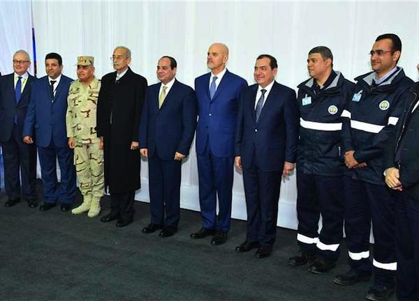 President Sisi Zohr