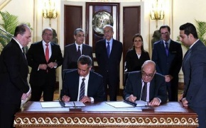 Egypt signs contract for $400 mn Gulf of Suez windfarm