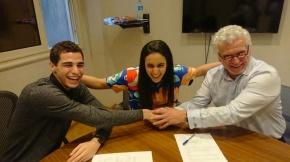 Carbon Holdings sponsors Squash World Champions Ali Farag and Nour ElTayeb