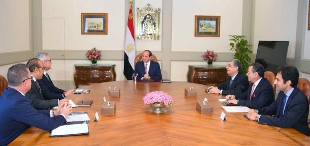 ABB CEO - El Sisi